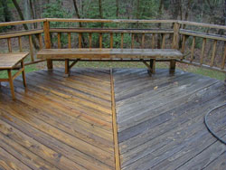 Deck cleaning and wood restoration services in Maryland