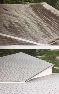 Roof cleaning services in Montgomery County Maryland