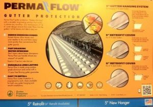 Permaflow Gutter Guard Installations in Montgomery County Maryland